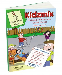 3D front cover Kidzmix Helping Kids Become Social Heroes